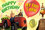 Happy Birthday zu 5 Jahren My Free Farm
