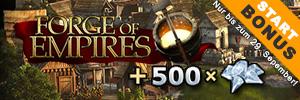 500 Diamanten Startbonus!