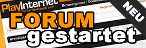 Onlinespiele & Browsergame Forum gestartet